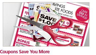 Coupons Save You More
